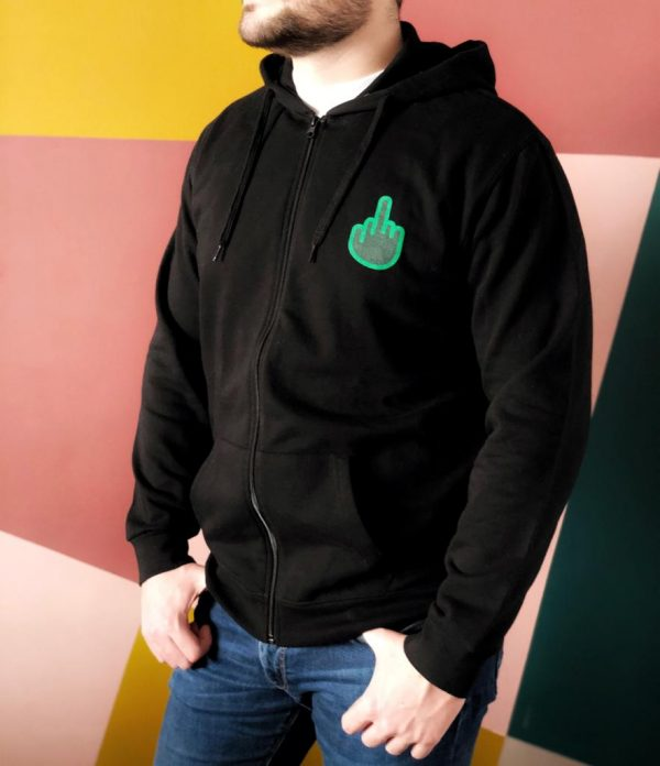 Sweat shirt homme foutu code développeur