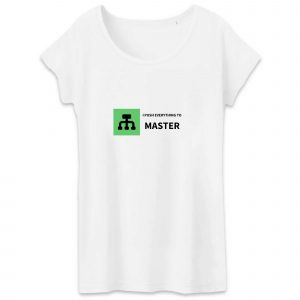 Push to Master T-shirt femme