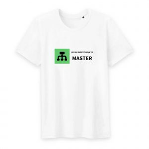 Push to Master T-shirt homme