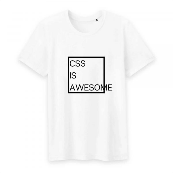 CSS is awesome T-shirt homme