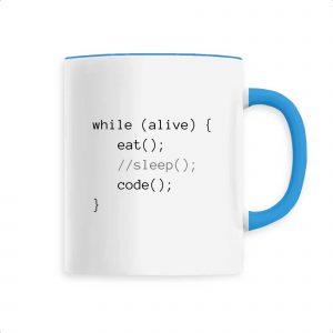 Mug Eat Sleep Code