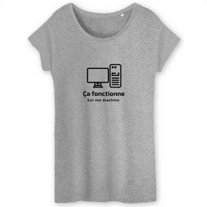 Ça fonctionne sur ma machine T-shirt femme