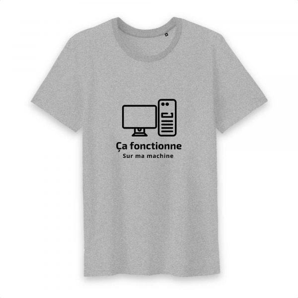 Ça fonctionne sur ma machine T-shirt homme