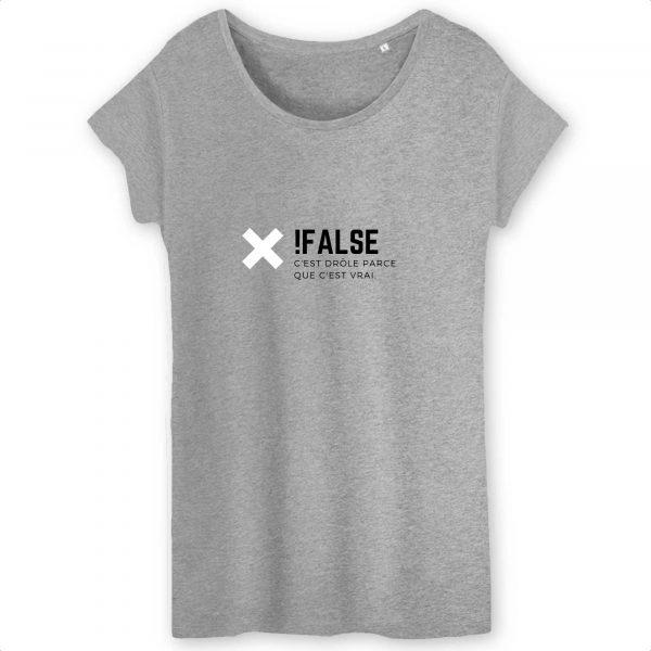 Not False T-shirt femme
