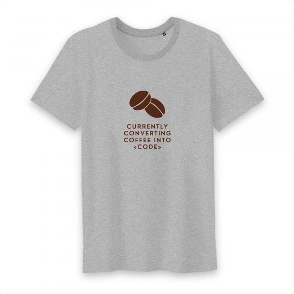 Converting coffee T-shirt homme