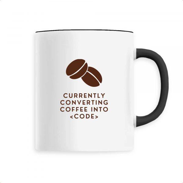 Mug Converting coffee