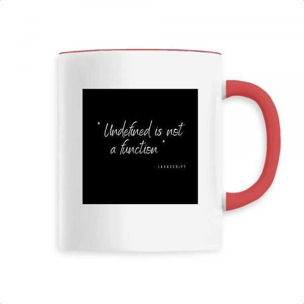 Mug Undefined is not a function