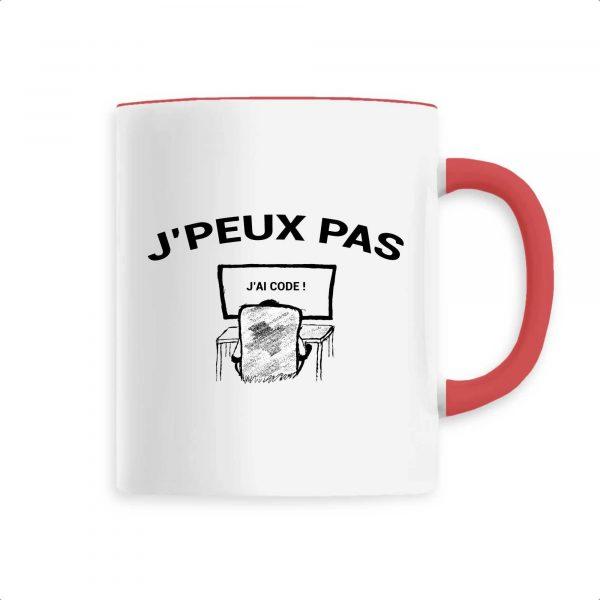 Mug J`peux pas j`ai code